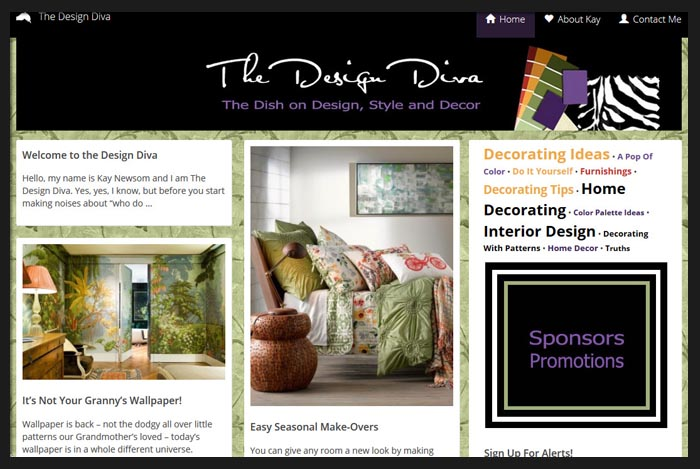 The Design Diva Blog