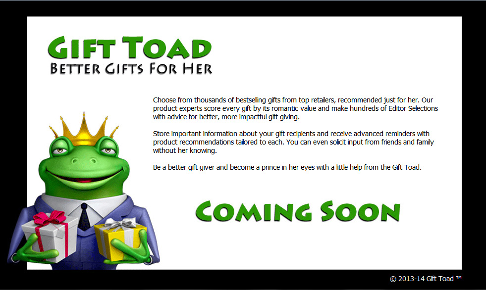 Gift Toad