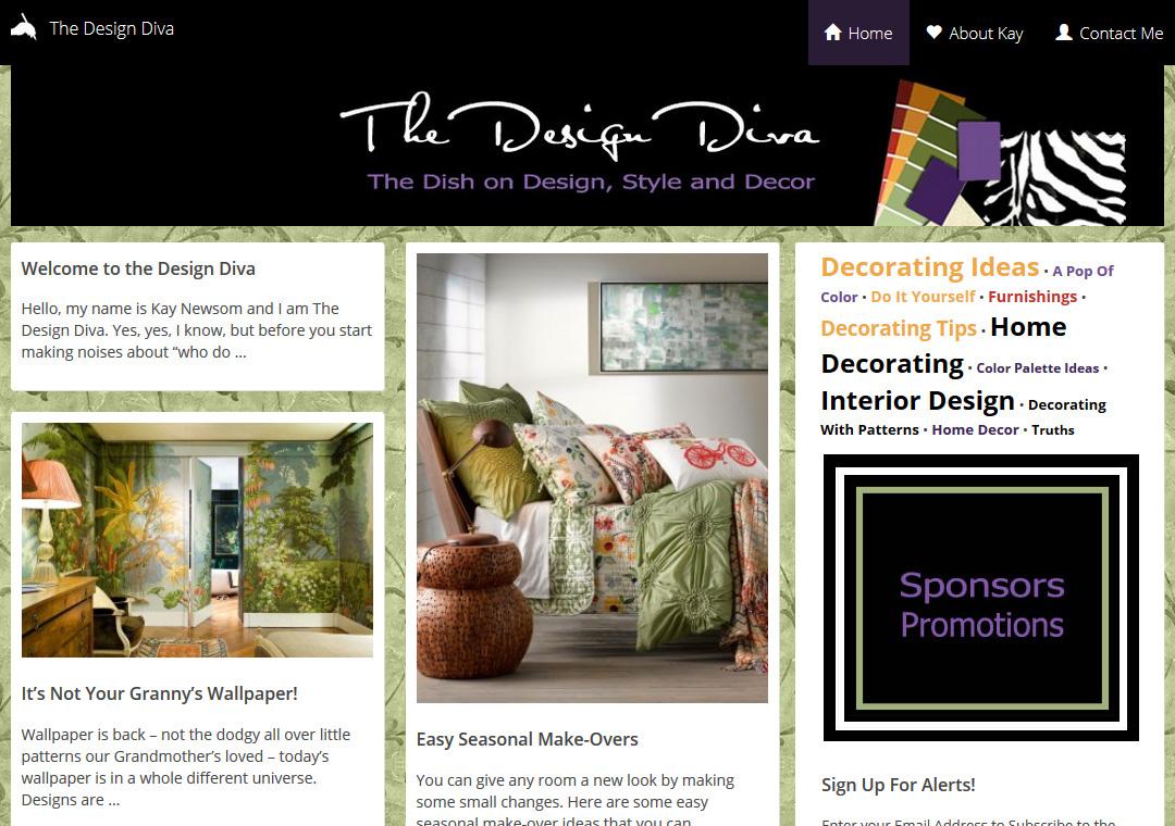 The Design Diva Blog
