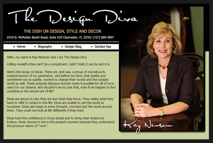 The Design Diva Online